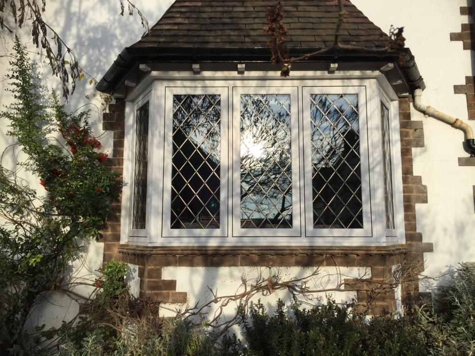Veka Flush Fit White UPVC Windows Fitted Near Abington Park Northampton 19th December 2016